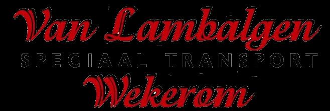 van Lambalgen transport Wekerom